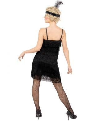 Flirty Black Flapper Women's 1920's Costume