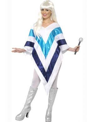 Super Trooper 1970's Womens Poncho Costume