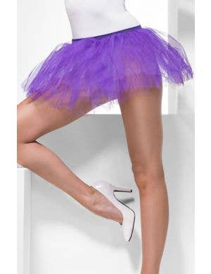 Layered Purple Costume Tutu