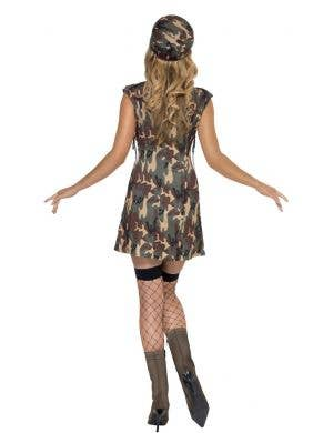 Army Women's Sexy Camouflage Dress Up Costume