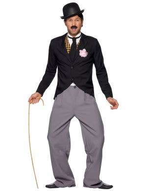 1920's Star Men's Charlie Chaplin Costume