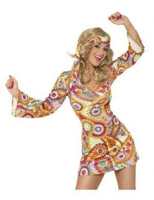 60's Hippie Chick Sexy Women's Costume