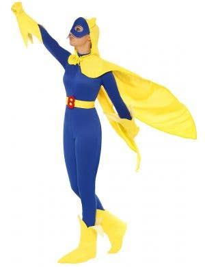 Caped Superhero Women's Bananaman Costume
