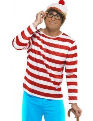 Where's Wally Men's Fancy Dress Costume