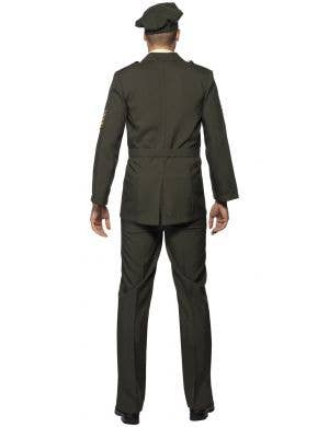 Wartime Officer Men's Military Soldier Costume