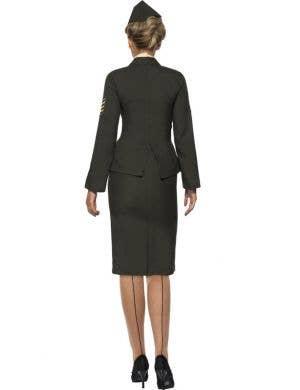 Wartime Officer Uniform Women's Plus Size Costume