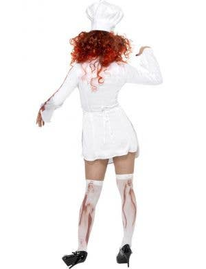 Kiss The Cook Women's Halloween Zombie Costume