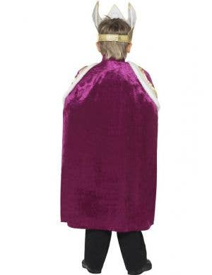 Royal King Boys Dress Up Cape Costume