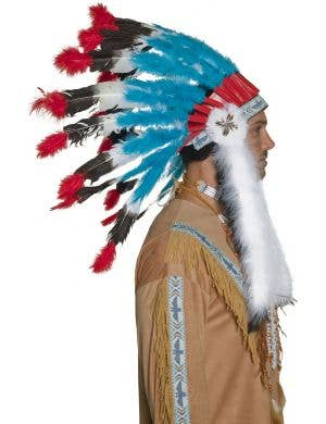 American Indian Feather Headdress Accessory