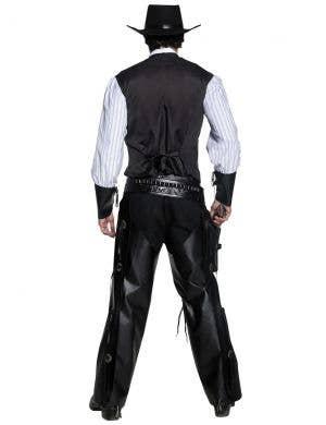 Western Gunslinger Men's Fancy Dress Costume