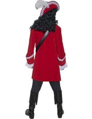 Pirate Captain Men's Fancy Dress Costume
