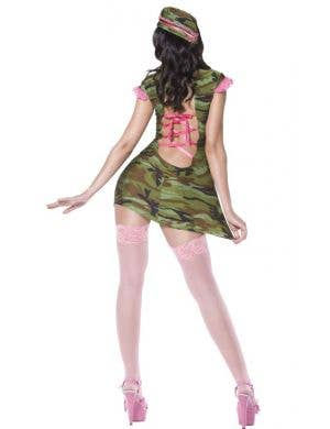 Pin Up Camo Cutie Sexy Women's Costume