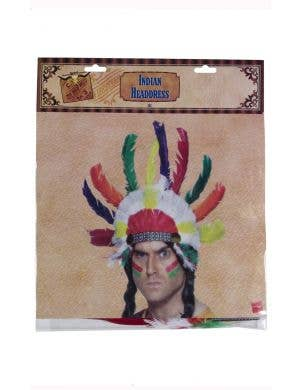 Native American Inspired Feather Headdress