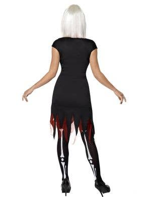 Bright Bones Women's Light Up Skeleton Costume