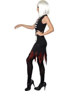 Bright Bones Women's Light Up Skeleton Costume