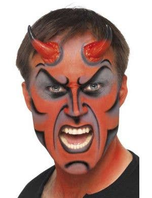 Horror Devil Makeup Kit with Horns