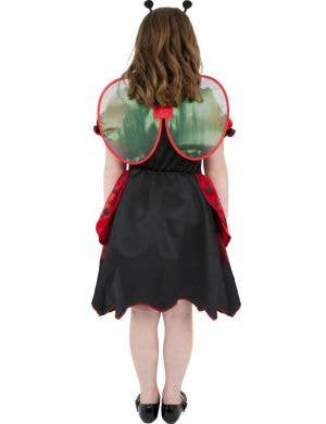 Lady Bug Girls Fancy Dress Costume