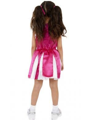 Cheerleader Girls Fancy Dress Costume