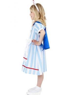 Vintage Nurse Girls Fancy Dress Costume