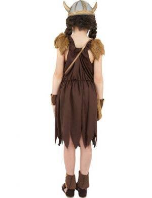 Viking Girls Fancy Dress Costume