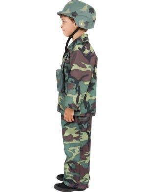 Army Boy Fancy Dress Costume