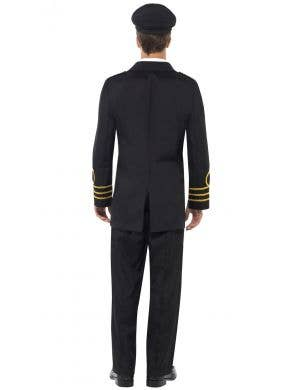 Navy Officer Men's Defence Force Fancy Dress Costume