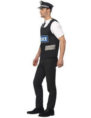 Instant Policeman Uniform Men's Fancy Dress Costume