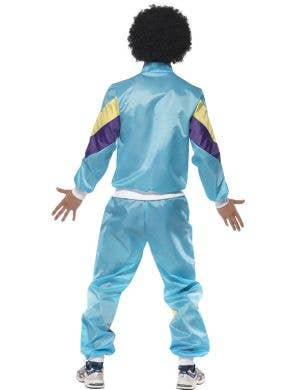 1980's Blue Shell Suit Men's Costume