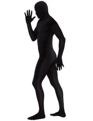 Second Skin Men's Black Fancy Dress Costume