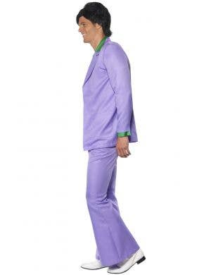 1970's Men's Purple Lavender Suit Costume