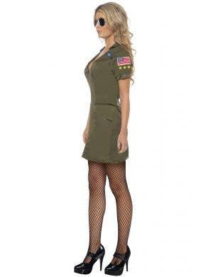 Aviator Top Gun Sexy Women's Costume