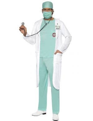 A&E Doctor Men's Fancy Dress Costume