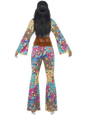 Flower Power Hippie Women's 70's Costume