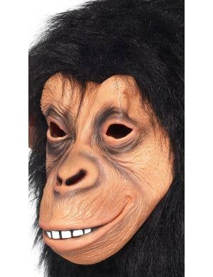 Chimp Adult's Overhead Monkey Mask Costume Accessory