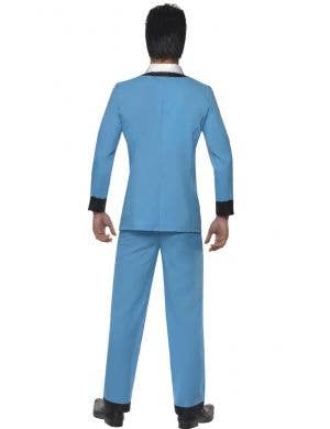 Hearthrob Teddy Boy Men's Blue 1950's Costume