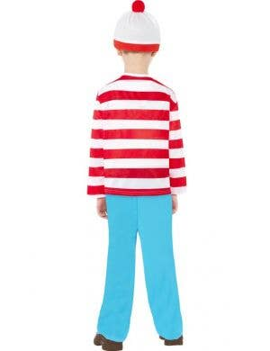Where's Wally Boys Costume