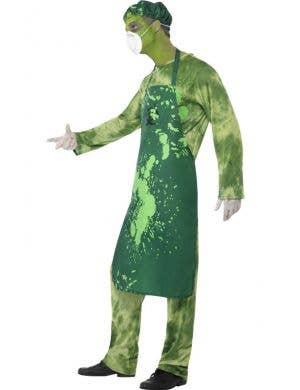Toxic Biohazard Zombie Men's Halloween Costume