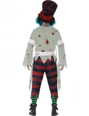 Mad Hatter Men's Halloween Zombie Costume