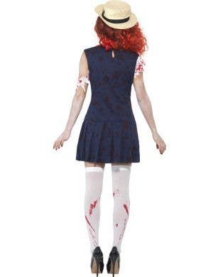 Zombie Private Schoolgirl Women's Halloween Costume
