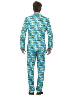 Aloha Hawaiian Print Men's Stand Out Suit
