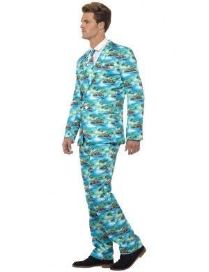 Aloha Hawaiian Print Men's Stand Out Suit
