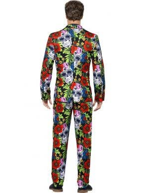 Day of the Dead Men's Halloween Stand Out Suit