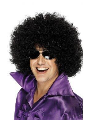 Mega Huge Black 1970's Unisex Afro Costume Wig