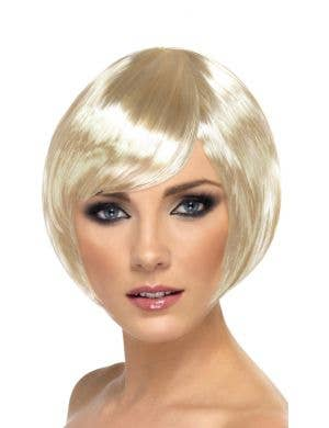 Babe Blonde Women's Bob Costume Wig