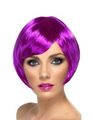 Babe Purple Women's Bob Costume Wig