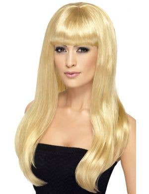 Babelicious Blonde Women's Long Wig with Fringe