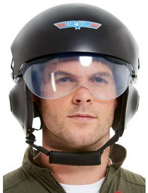 Deluxe Top Gun Helmet Costume Accessory