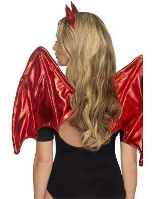 Devil Wings and Horns Costume Accessory Kit