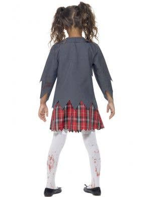 School Uniform Girl's Zombie Costume
