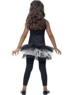 Skeleton Black and White Girl's Tutu Dress
